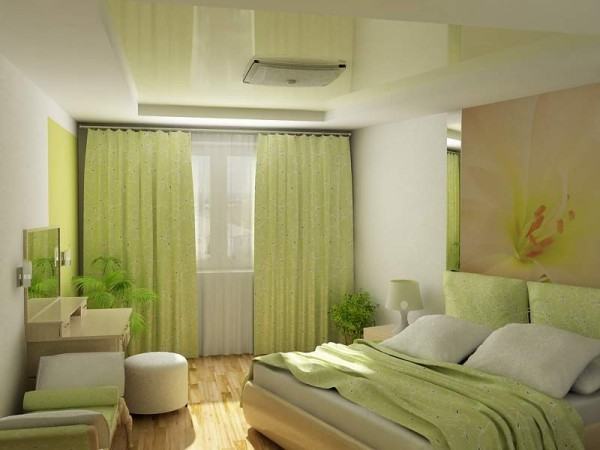 green-comfortable-bedroom-design