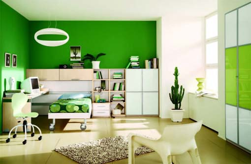 kids-green-bedroom-design-ideas